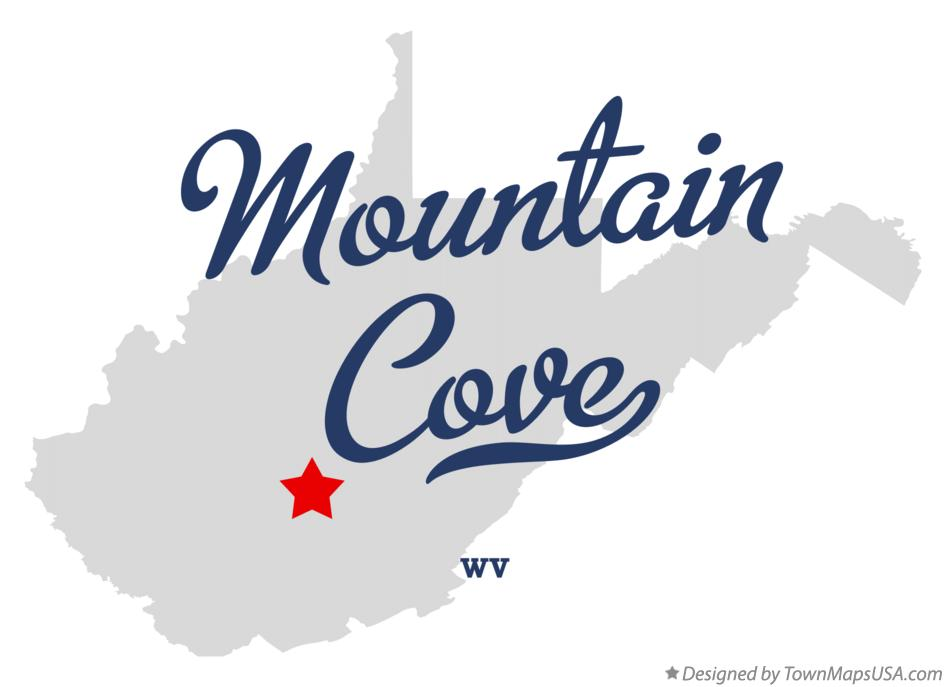 Map of Mountain Cove West Virginia WV