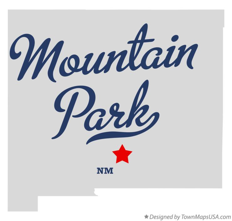 Map of Mountain Park New Mexico NM