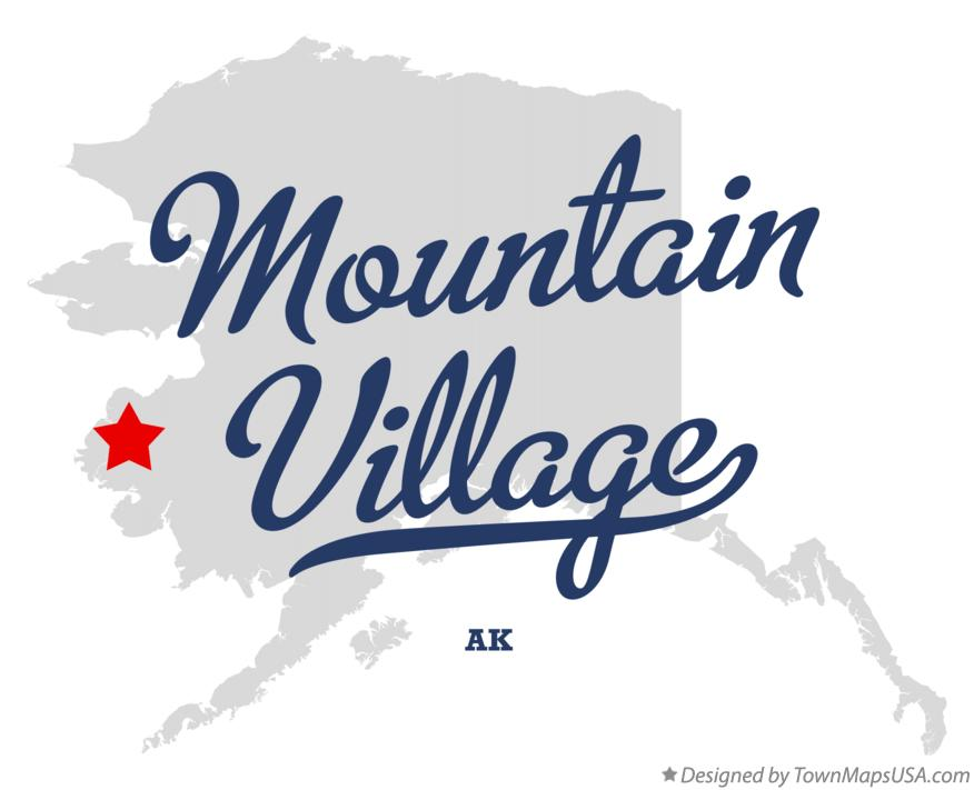 Map of Mountain Village Alaska AK