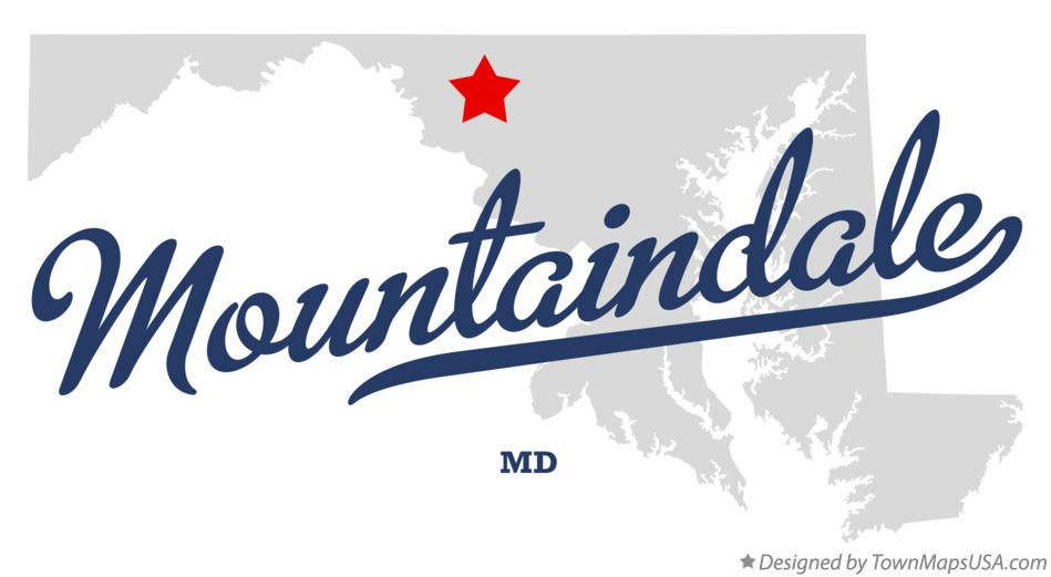 Map of Mountaindale Maryland MD