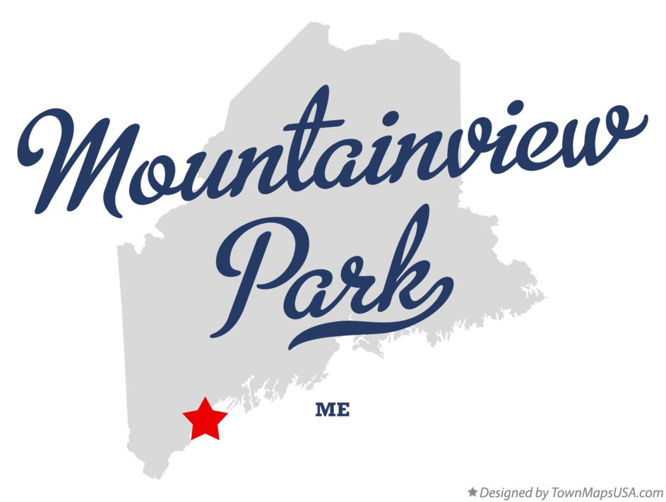 Map of Mountainview Park Maine ME
