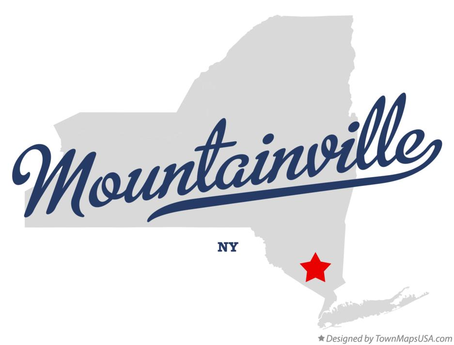 Map of Mountainville New York NY