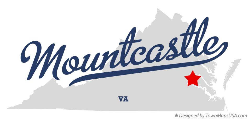 Map of Mountcastle Virginia VA