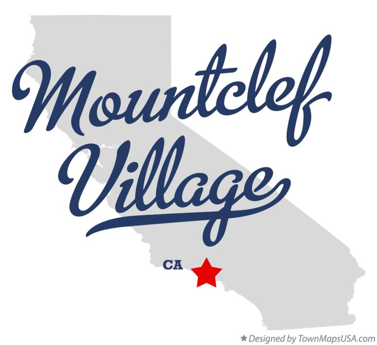 Map of Mountclef Village California CA