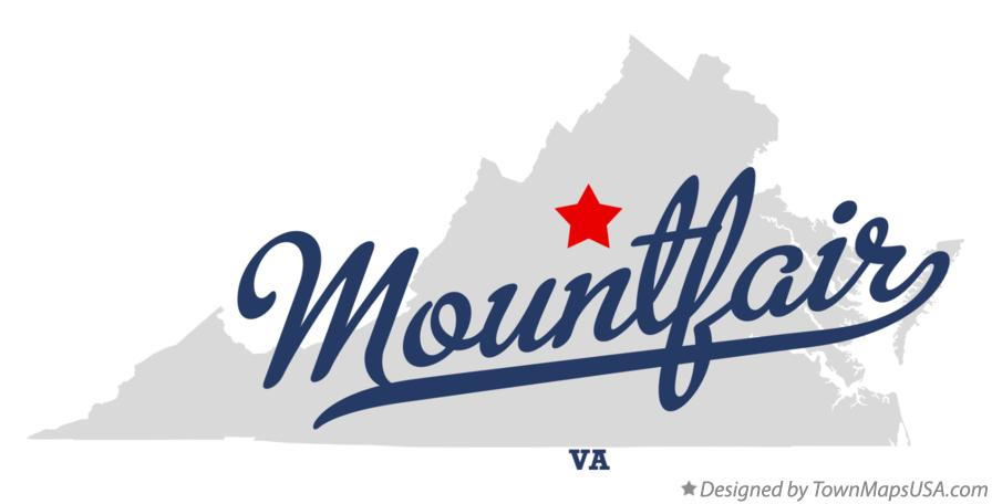 Map of Mountfair Virginia VA