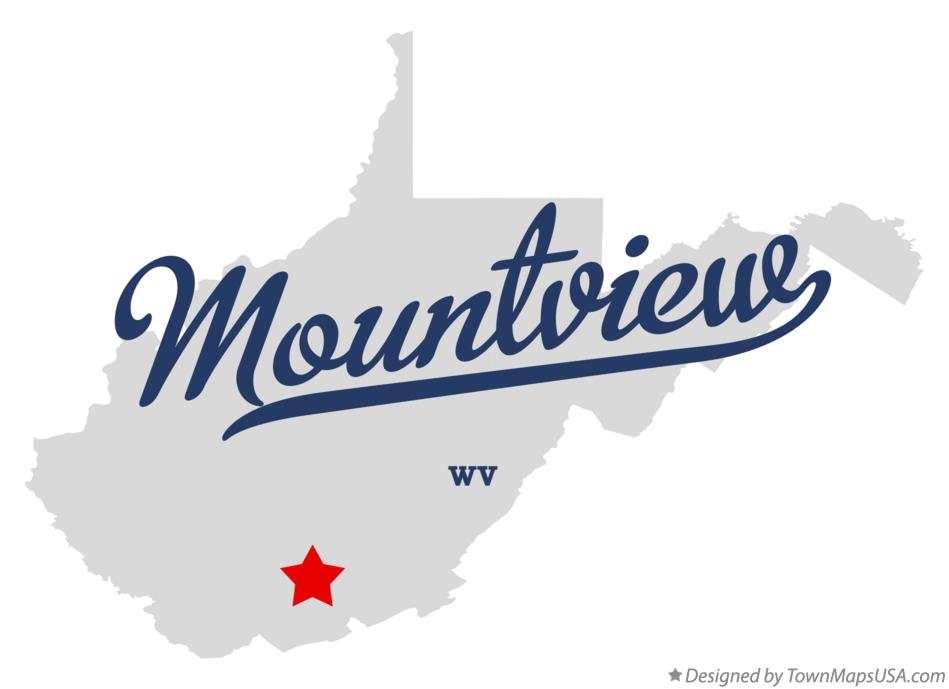 Map of Mountview West Virginia WV