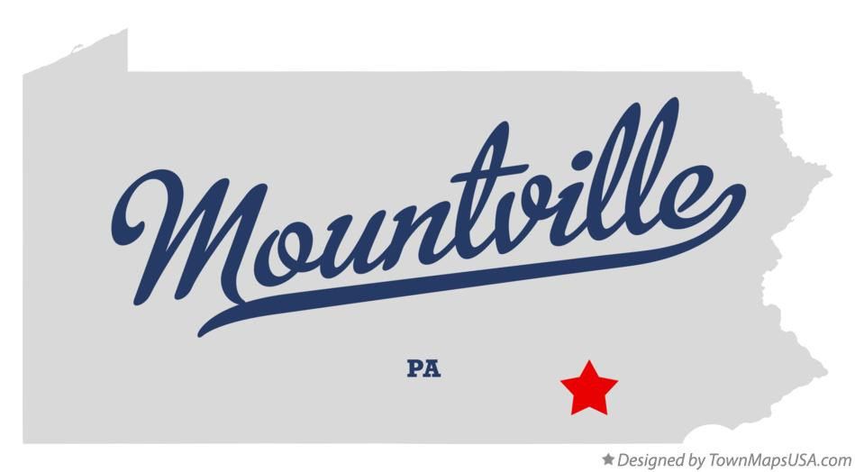 Mountville (PA) United States  city photos : Map of Mountville, PA, Pennsylvania