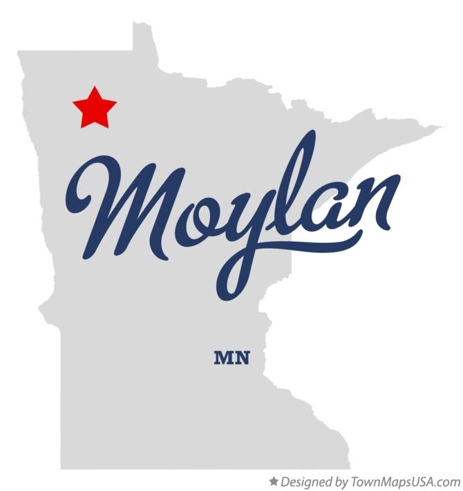 Map of Moylan Minnesota MN