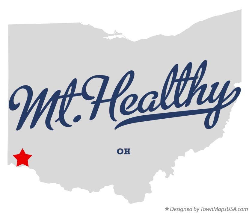 Map of Mt.Healthy Ohio OH