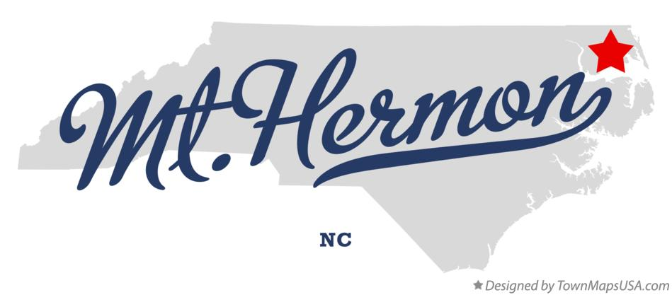 Map of Mt.Hermon North Carolina NC