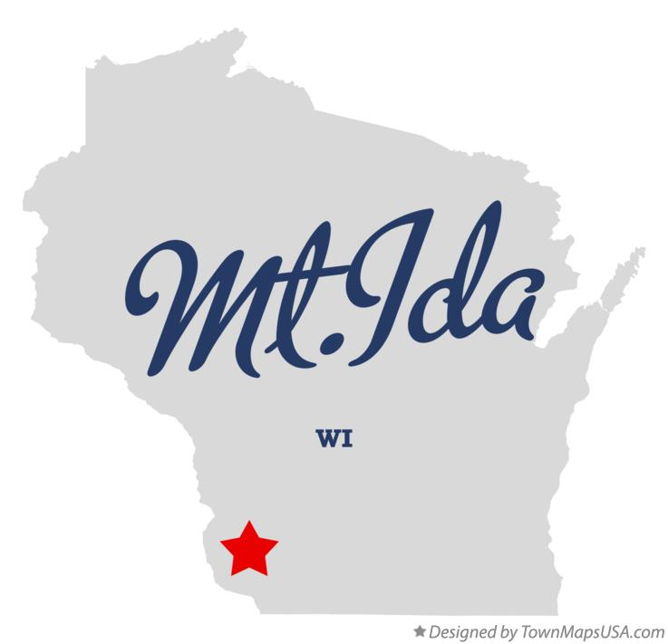 Map of Mt.Ida Wisconsin WI