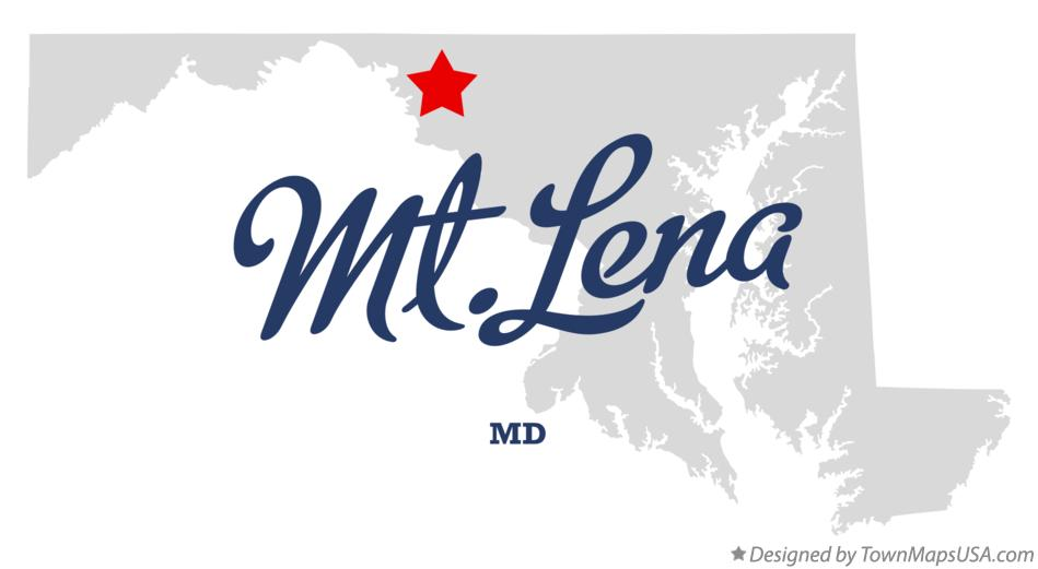 Map of Mt.Lena Maryland MD