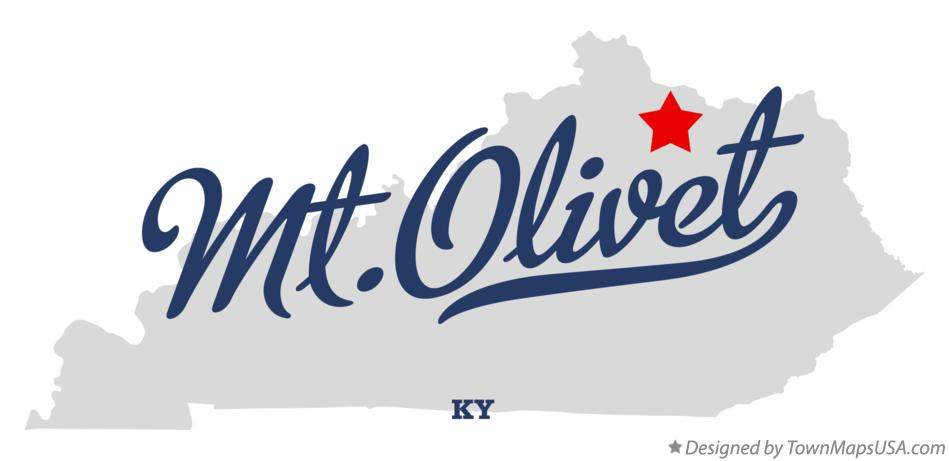 Map of Mt.Olivet Kentucky KY