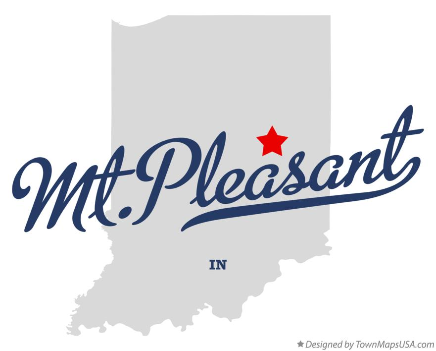 Map of Mt.Pleasant Indiana IN