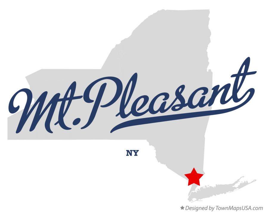 Map of Mt.Pleasant New York NY