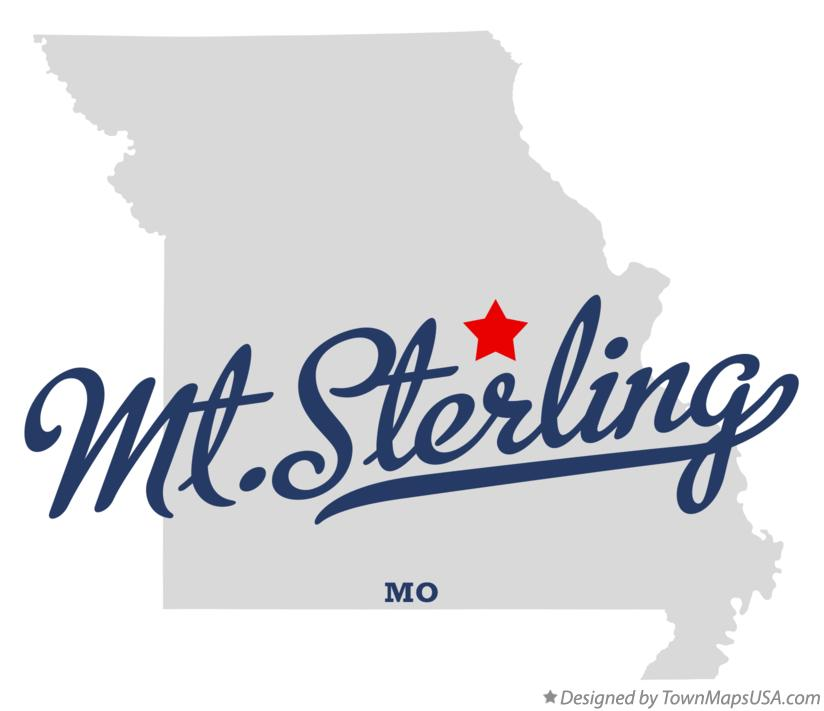Map of Mt.Sterling Missouri MO