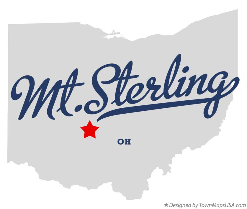 Map of Mt.Sterling Ohio OH