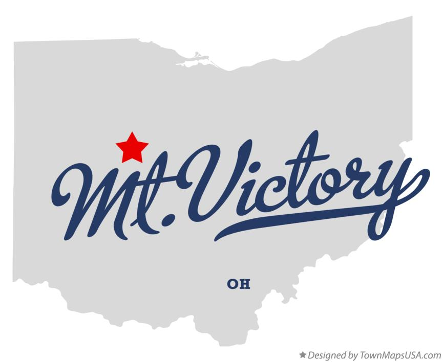 Map of Mt.Victory Ohio OH