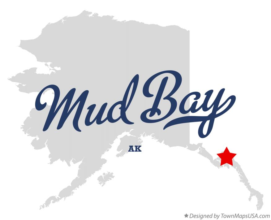 Map of Mud Bay Alaska AK