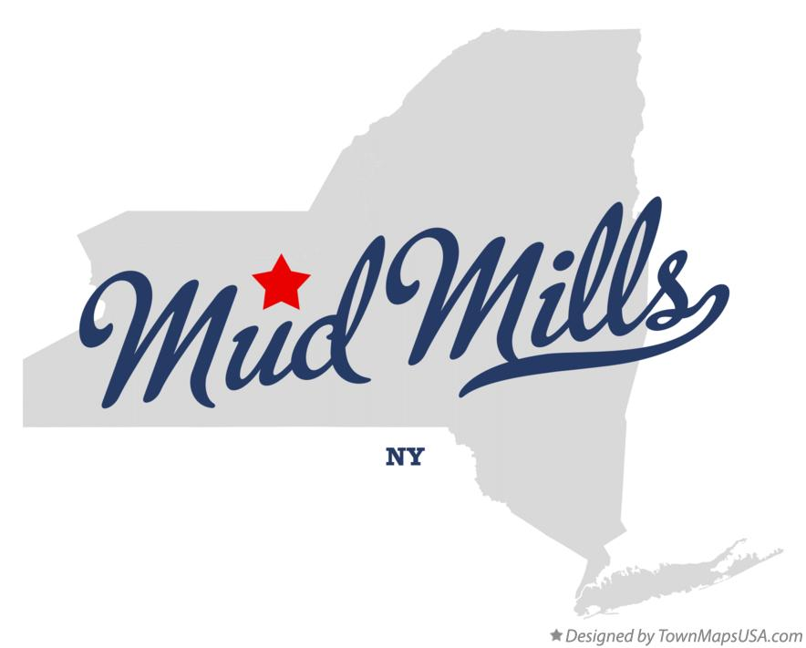 Map of Mud Mills New York NY