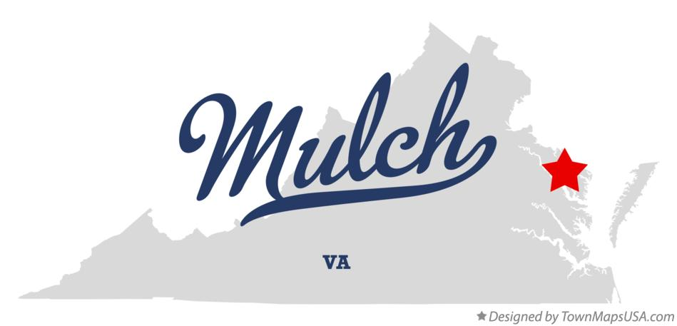 Map of Mulch Virginia VA