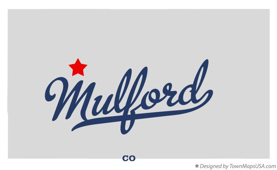 Map of Mulford Colorado CO