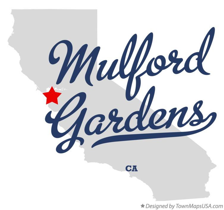 Map of Mulford Gardens California CA