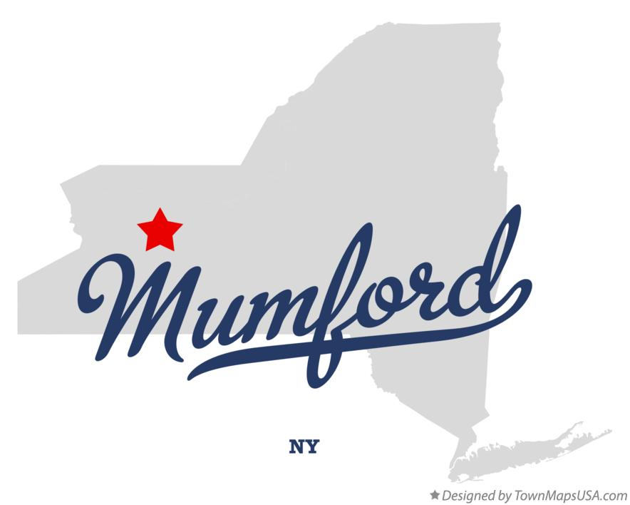 Map of Mumford New York NY