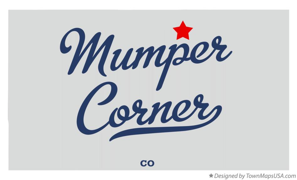 Map of Mumper Corner Colorado CO
