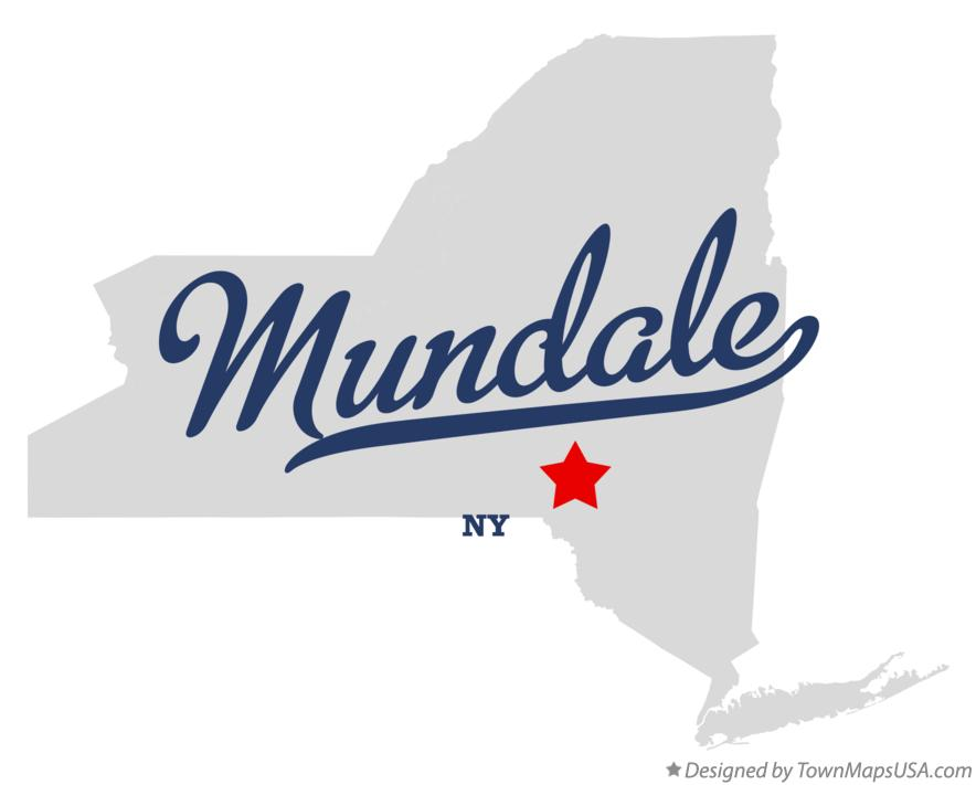 Map of Mundale New York NY