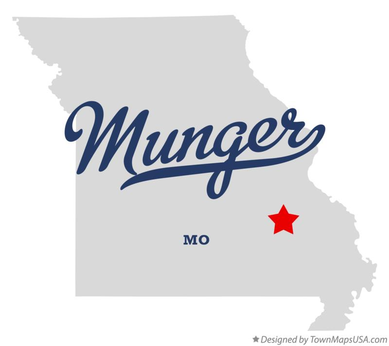 Map of Munger Missouri MO