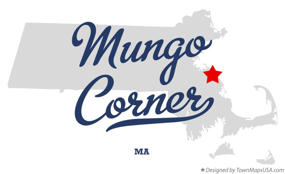 Map of Mungo Corner Massachusetts MA