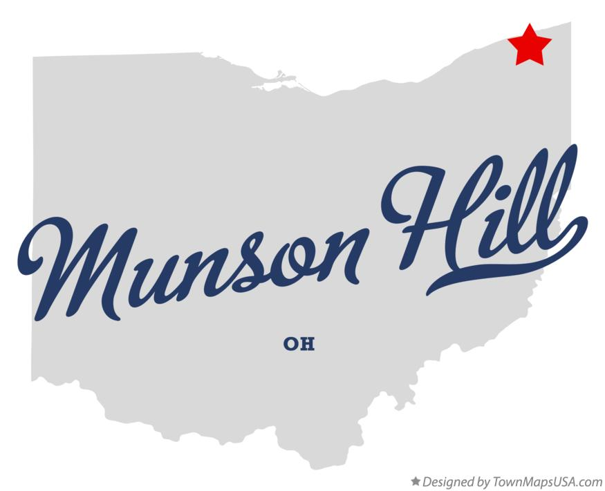 Map of Munson Hill Ohio OH