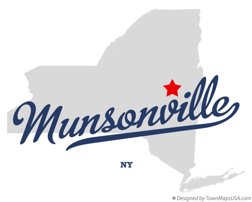 Map of Munsonville New York NY