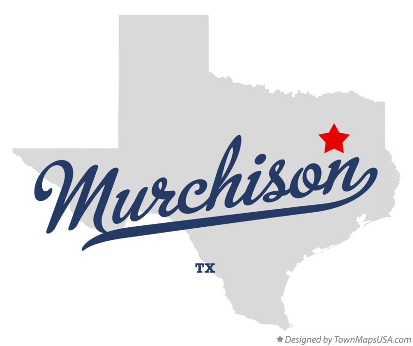 Map of Murchison Texas TX