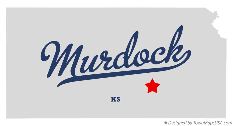 Map of Murdock Kansas KS