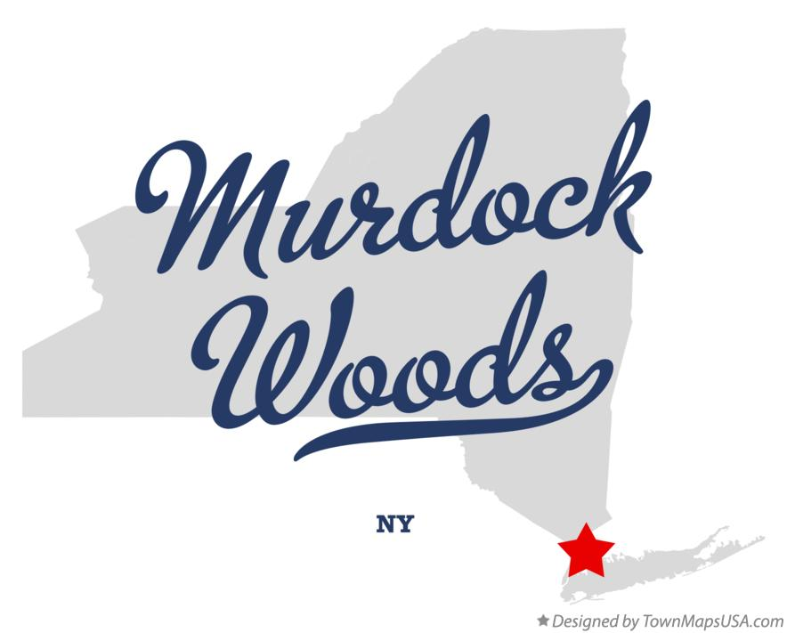 Map of Murdock Woods New York NY