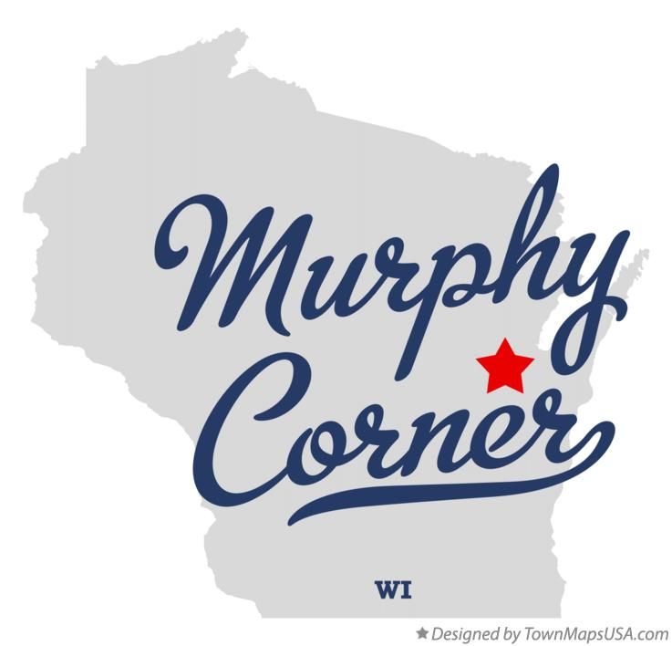Map of Murphy Corner Wisconsin WI