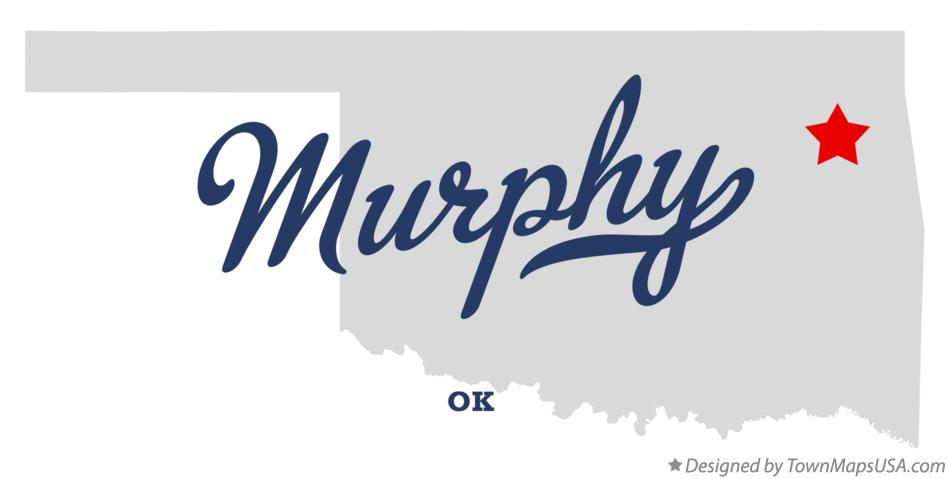 Map of Murphy Oklahoma OK