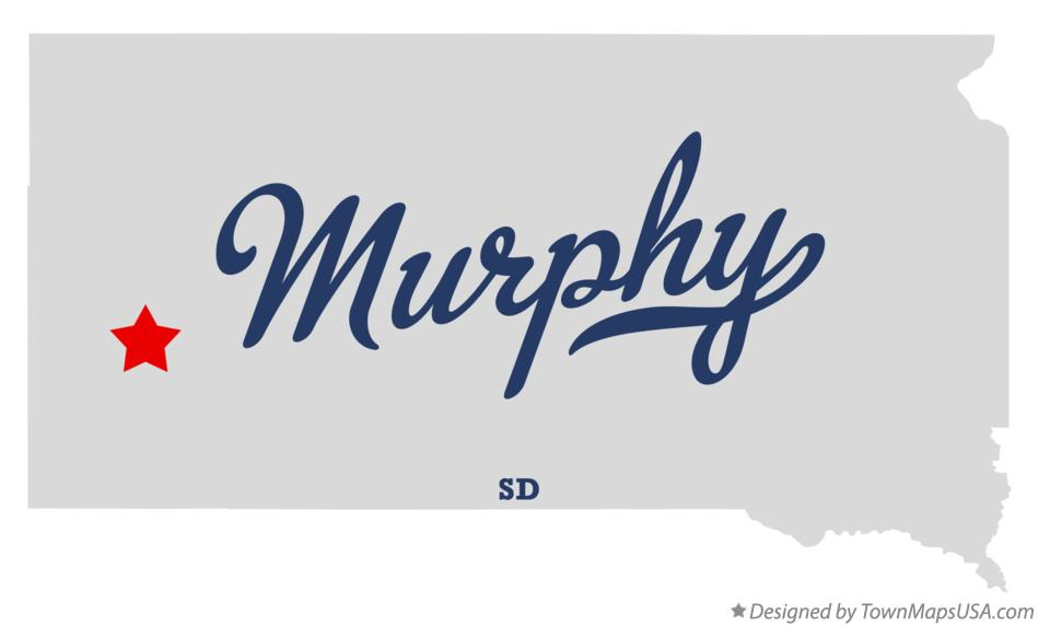 Map of Murphy South Dakota SD