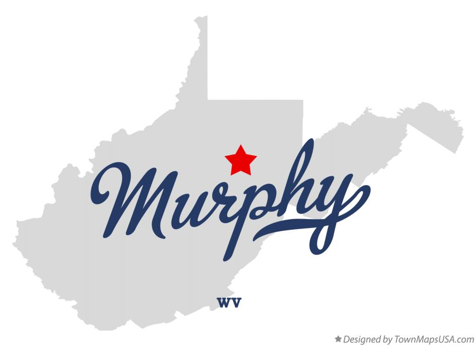 Map of Murphy West Virginia WV