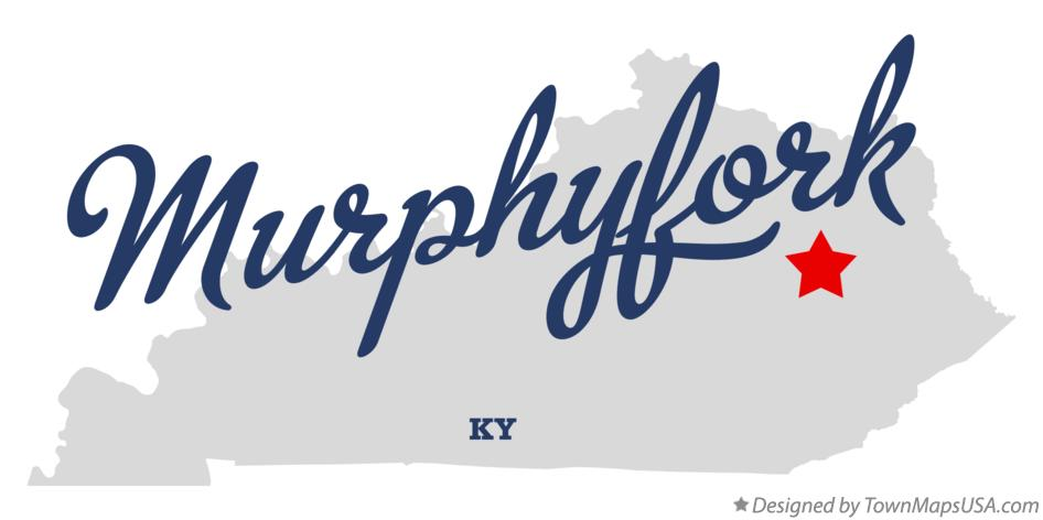 Map of Murphyfork Kentucky KY