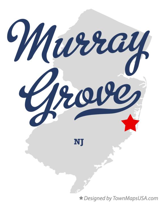 Map of Murray Grove New Jersey NJ