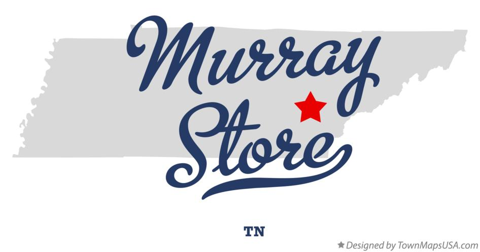 Map of Murray Store Tennessee TN