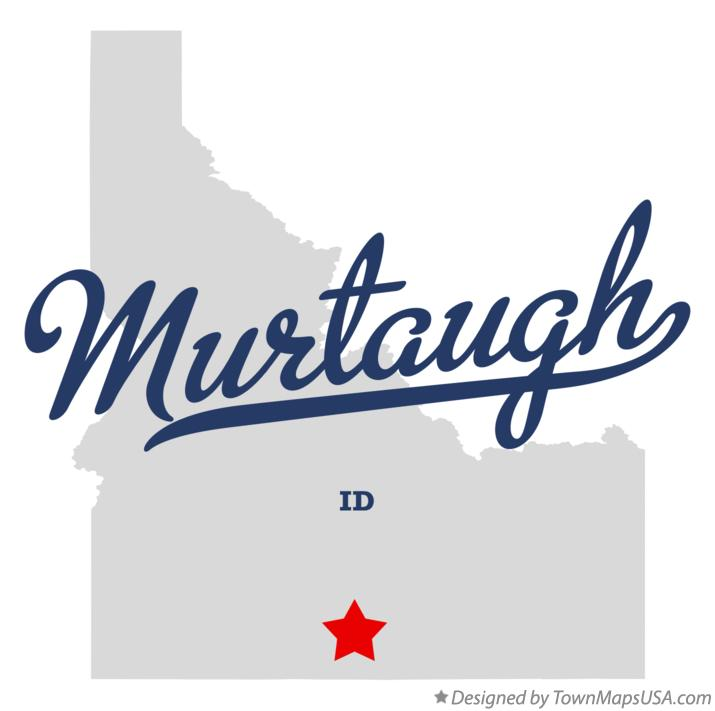 Map of Murtaugh Idaho ID