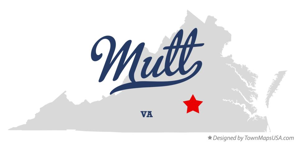 Map of Mutt Virginia VA