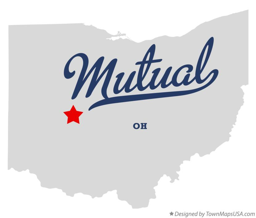 Map of Mutual Ohio OH