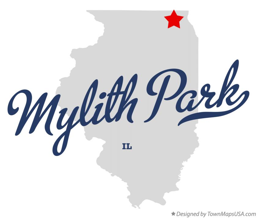 Map of Mylith Park Illinois IL