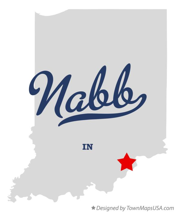 Map of Nabb Indiana IN