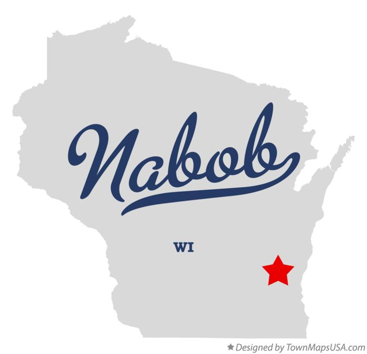 Map of Nabob Wisconsin WI